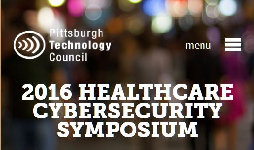 Tangible Security Featured at the Upcoming 2016 Healthcare Cybersecurity Symposium